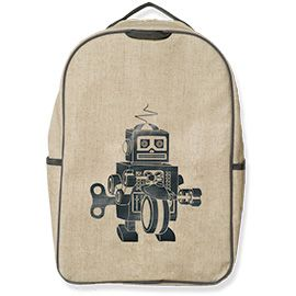 Grade School Backpack, Robot