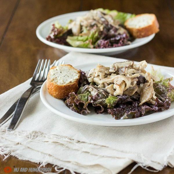 Warm Mushroom Salad - The Adventures of MJ and Hungryman. I would like ...