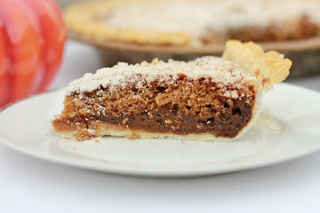 Shoofly Pie from I Wrestled A Cupcake Once
