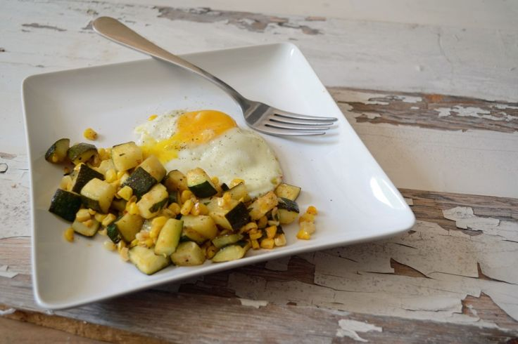 Zucchini and Corn Hash | What's for Breakfast? | Pinterest