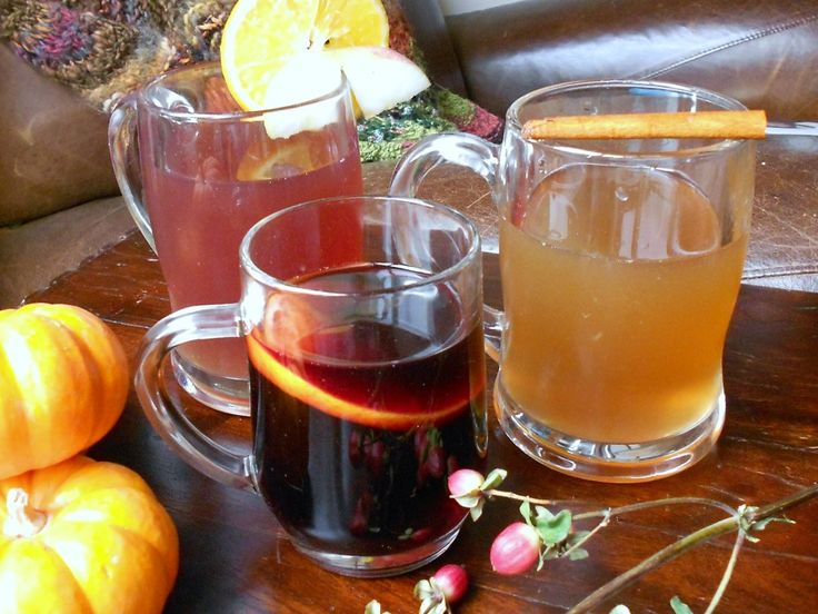 Hot Spiced Cider & Mulled Wine Recipes | Ooooh it's a wine night ...