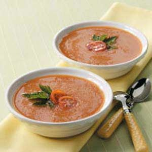 Spanish Gazpacho - needs some spices added to it...cjg