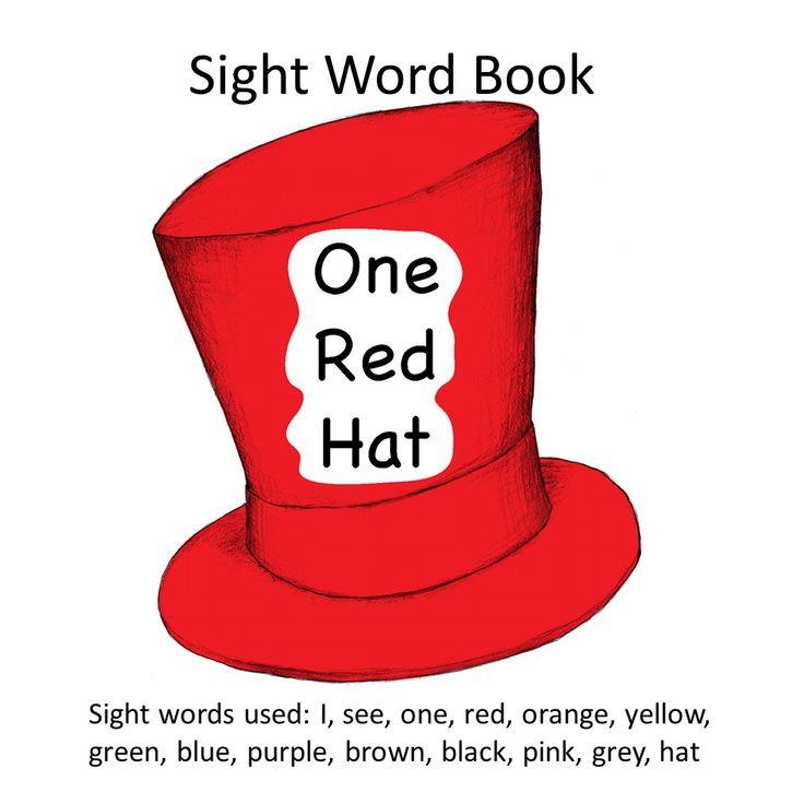 book can i Sight sight word Words