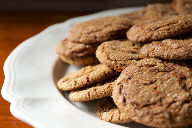 Gingersnap Cookies | Food - Desserts | Pinterest