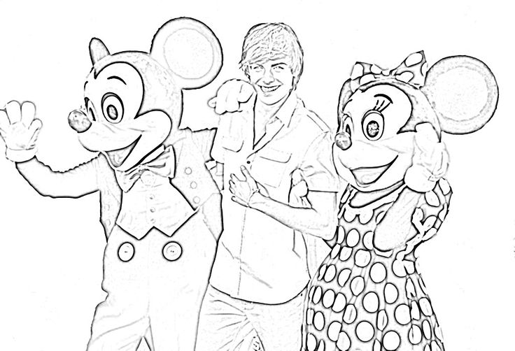 zac efron coloring pages print - photo #20
