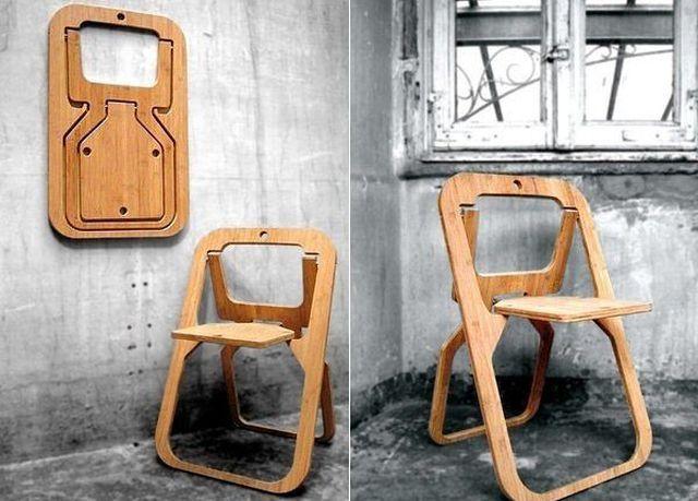 Оригинальные стулья своими руками 69