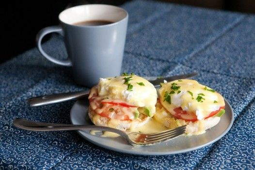 Vegetable Eggs Benedict Recipe — Dishmaps