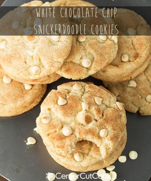 White chocolate chip snickerdoodles | Mars® - treats with Mars produc ...