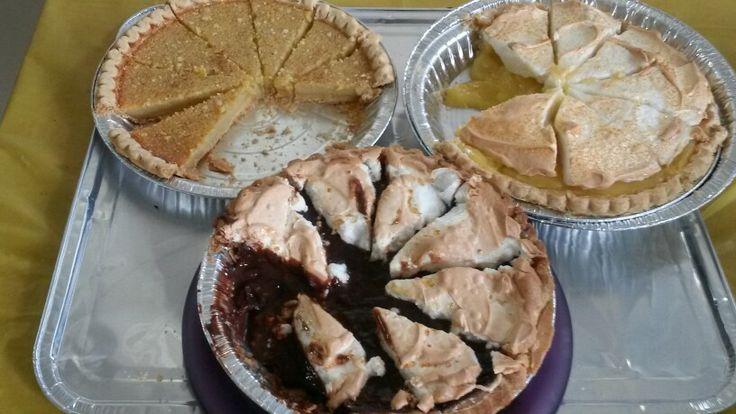 Chess pie, chocolate, lemon meringue pie | Marilyn's Cakes & Pies ...