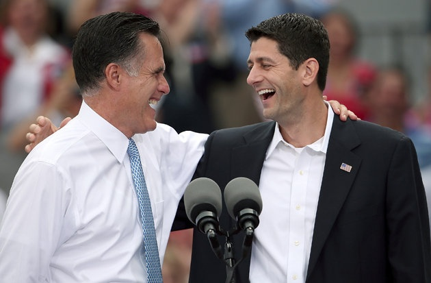 Mitt Romney introduces Paul Ryan as his VP running mate