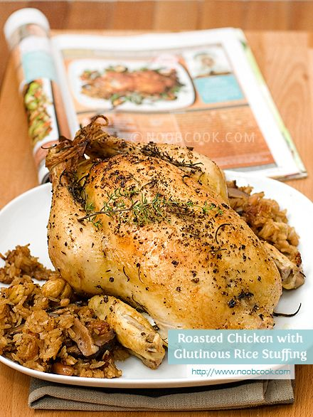 Roast Chicken with Glutinous Rice (Lo Mai Kai) Stuffing