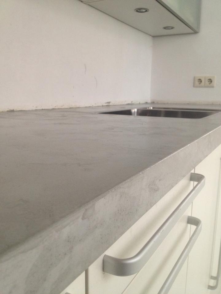 Beton Cire Werkblad Keuken : betoncire 1. keuken Pinterest