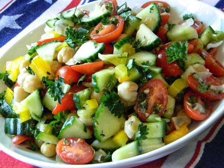 Israeli Salad | SugarRush Blog Recipes | Pinterest