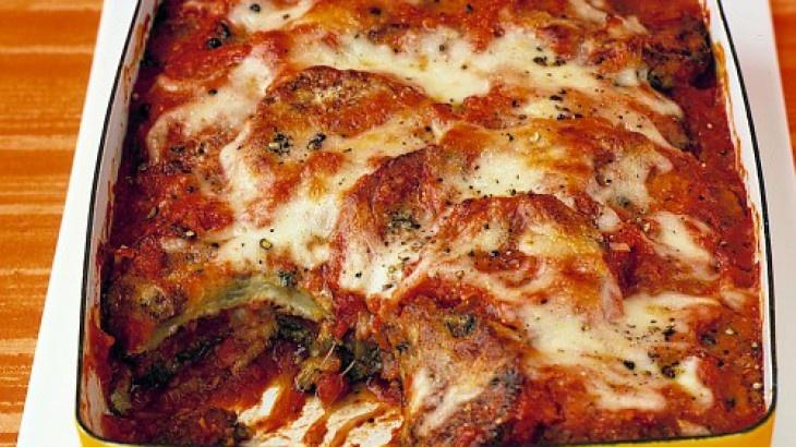Baked-Eggplant Parmesan | Cooking ideas | Pinterest