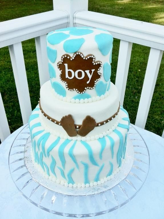 Baby shower ideas for boys little man baby shower for Baby boy cake decoration