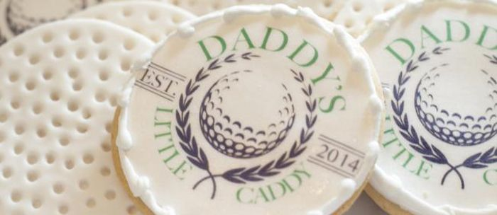 Daddy's Little Caddy Themed Baby Shower via Kara's Party Ideas. So cute for today's dad showers!