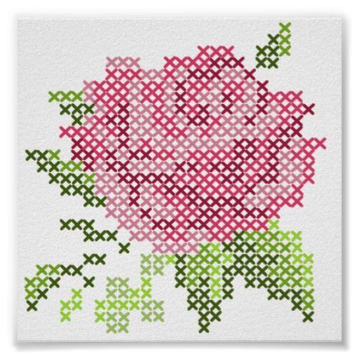 Подробнее об этой теме: cross stitch rose, cross stitches и stitches.