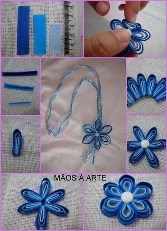 Цветы из ткани своими руками из тонкой ткани