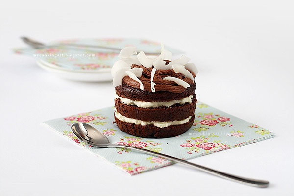 coconut-chocolate muffins | Itsy, Bitsy, oh so pretty | Pinterest