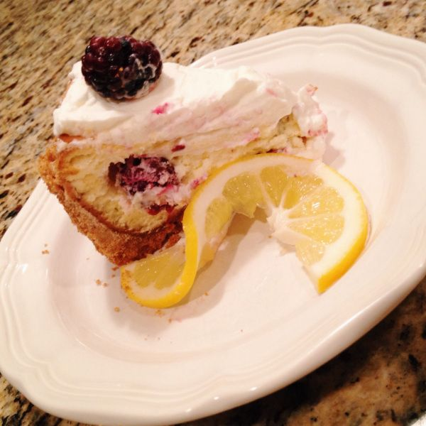 Lemon Berry Cheesecake on the blog! | T.W.O. Recipes | Pinterest