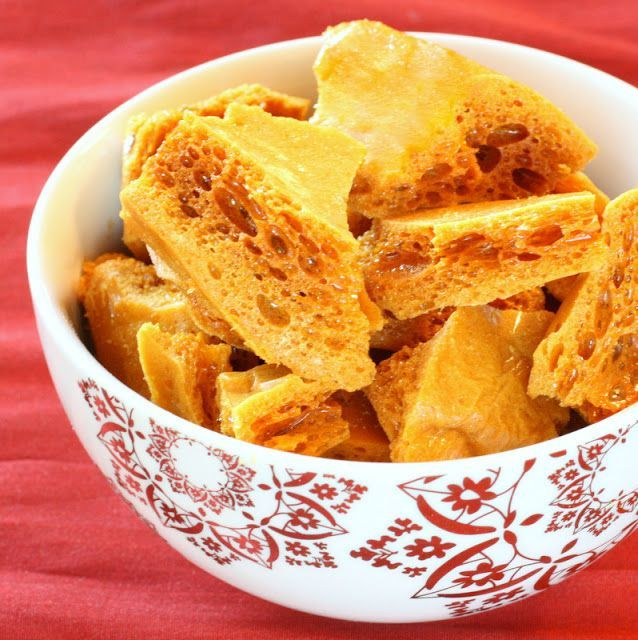 """Honeycomb Toffee. 