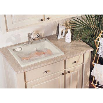 Reliance Whirlpools Reliance 11.5 x 25 Jentle Jet Laundry Sink