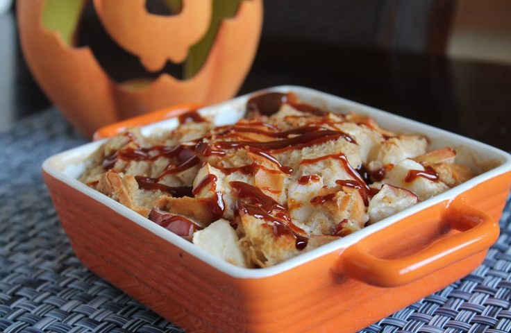 caramel-apple-bread-pudding | Fall Crafts and Food | Pinterest