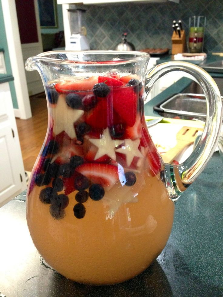4th of july kid drinks
