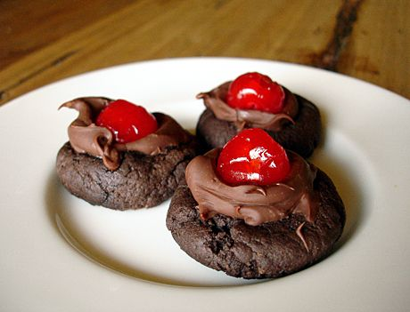 cherry cookies ii white chocolate cherry cookies cherry chocolate ...