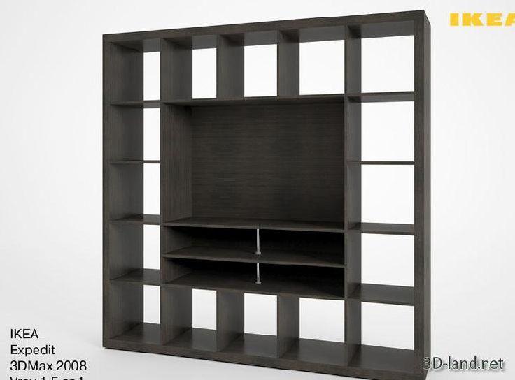 ikea expedit tv stand basement pinterest. Black Bedroom Furniture Sets. Home Design Ideas