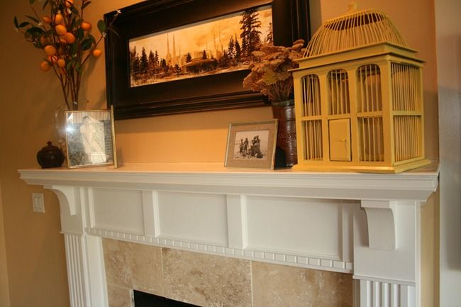 diy fireplace mantel and surround home fireplace pinterest