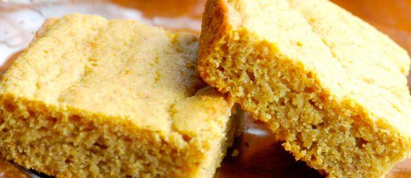 Pumpkin Cornbread | Healthy Bread | Pinterest