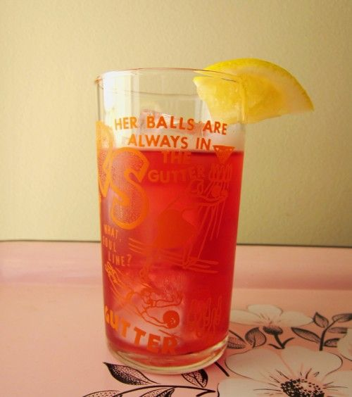 ... little advice too): earl grey & hibiscus cold-brewed iced tea