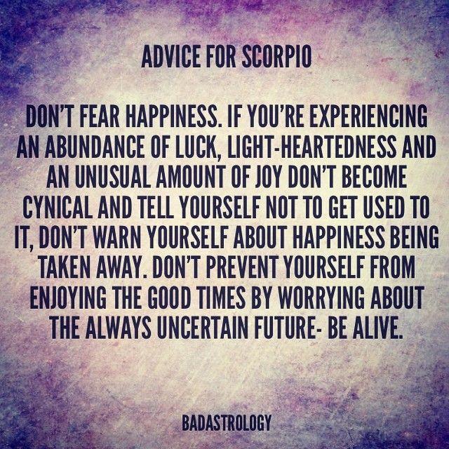 Scorpio Quotes....