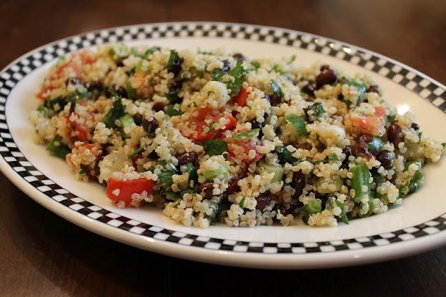 Black bean and tomato Quinoa | Vegetarian Delights! | Pinterest
