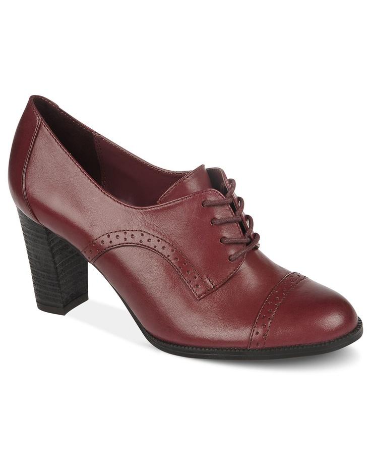 Etienne Aigner Shoes, Jodell Oxford Pumps - Shoes - Macy's