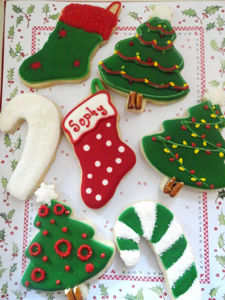 How to decorate Holiday sugar cookies | Winter holiday wonderfulness ...