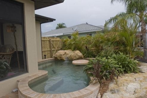 Pool designs for small yards for the home pinterest for Pool design for small yards