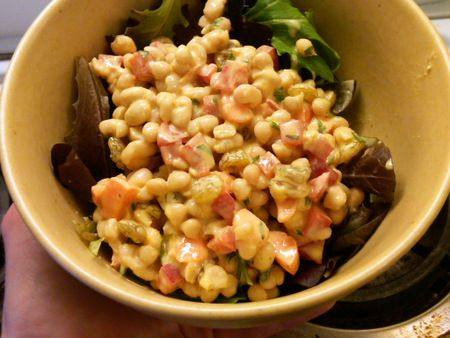 curried bean salad by Karen Lenaham from Small Kitchen - Big Taste