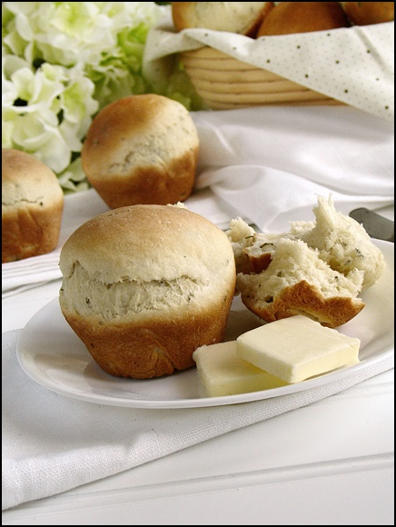 Rosemary Potato Rolls | Food | Pinterest