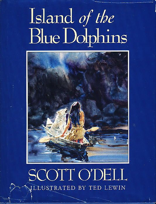 Island of the blue dolphins cover - photo#21