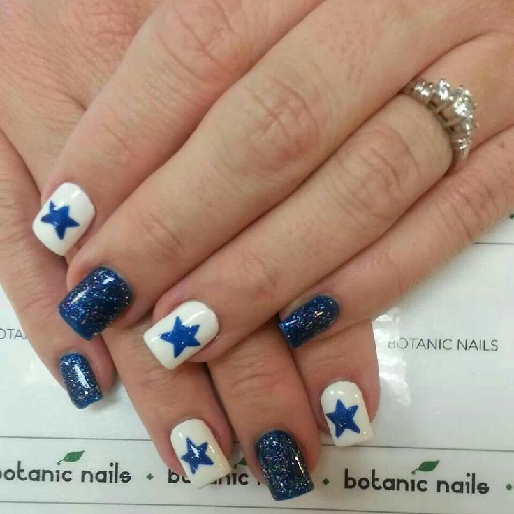 Nails in dallas beautify themselves with sweet nails dallas cowboys nails dallas cowboys my boys forever prinsesfo Image collections