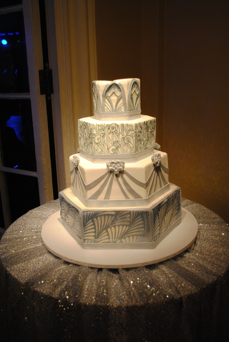 Quilted Wedding Cakes Jazz Age And Google Search On Pinterest