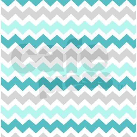 Blue grey chevron pattern shower curtain on cafepress com