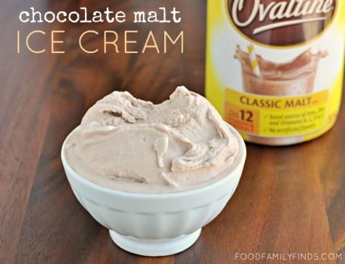 ovaltine chocolate malt ice cream recipe