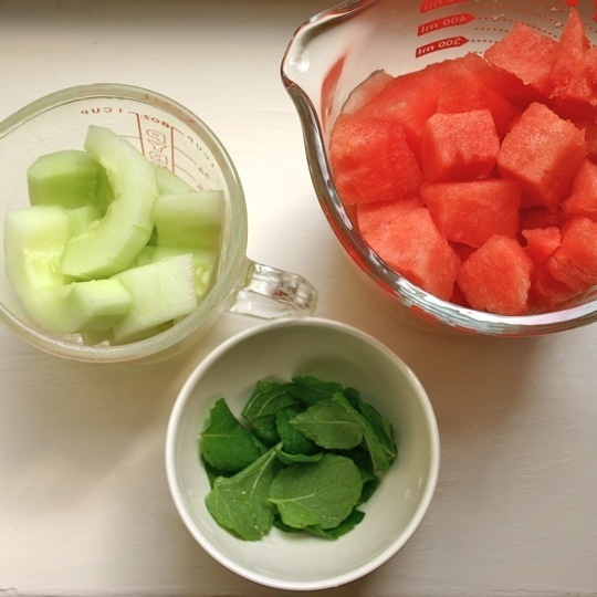 Watermelon-Cucumber Refresher | Recipe