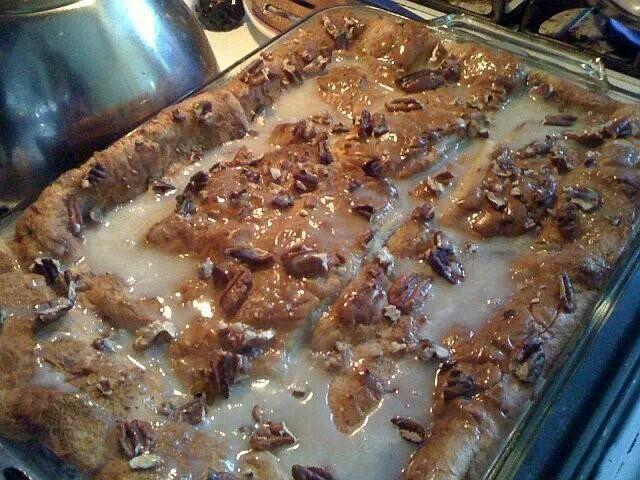White chocolate bread pudding | Yummy | Pinterest