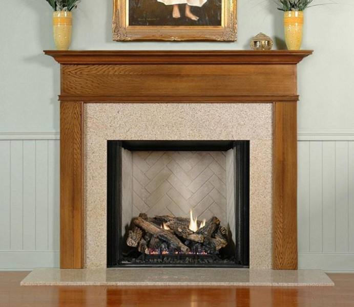 Montpelier Custom Fireplace Mantel No Flutes