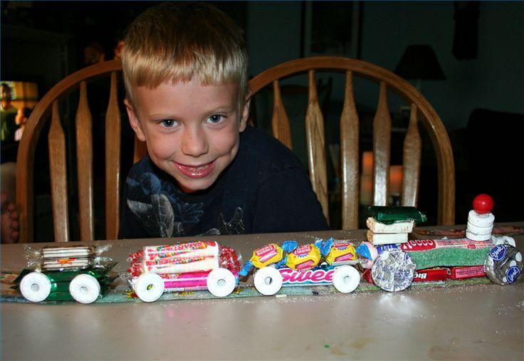 Lifesavers Candy Train Crafts