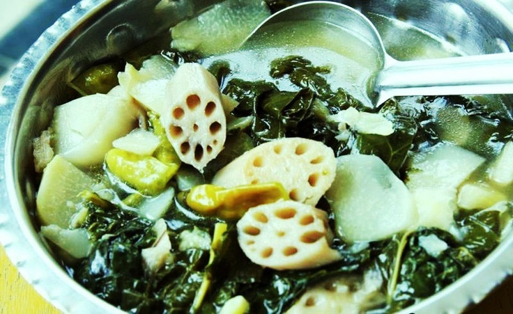 lotus root soup | cooking | Pinterest